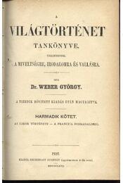 A világtörténet tankönyve I-V. - Régikönyvek
