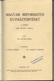 Magyar református egyháztörténet I kötet - Régikönyvek