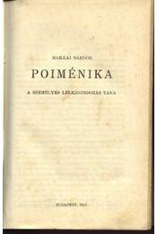 Poiménika - Régikönyvek
