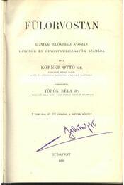 Fülorvostan - Régikönyvek