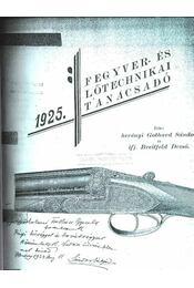 Fegyver- és lőtechnikai tanácsadó - Régikönyvek