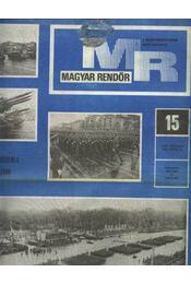 Magyar Rendőr 1980. év - Régikönyvek