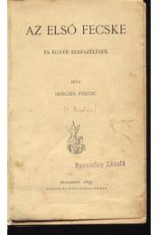 Az első fecske - Régikönyvek