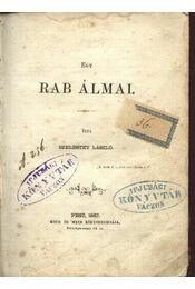 Egy rab álmai - Régikönyvek