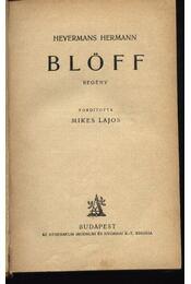 Blöff - Régikönyvek