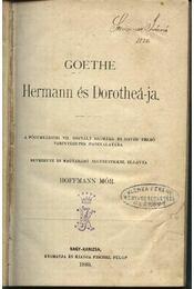 Goethe Hermann és Dorotheá-ja - Régikönyvek