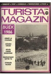 Turista magazin 1986.évfolyam - Régikönyvek