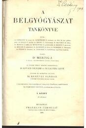 A belgyógyászat tankönyve I.-II. - Régikönyvek