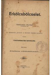 Erkölcsbölcselet I-II. - Régikönyvek