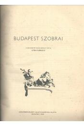 Budapest szobrai - Régikönyvek