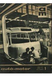 Autó-motor 1965. január-december - Régikönyvek