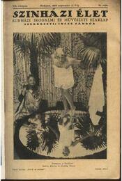 Szinházi élet 1929. 36.szám - Régikönyvek