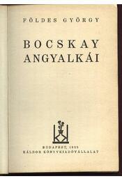 Bocskai angyalkái - Régikönyvek
