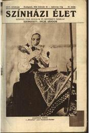 Szinházi élet 1934. 10.szám - Régikönyvek