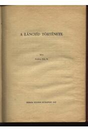 A Lánchíd története - Régikönyvek