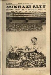 Szinházi élet 1930. 45. szám - Régikönyvek