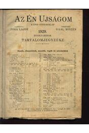 Az Én Ujságom 1929. év - Régikönyvek