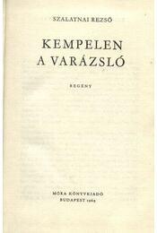 Kempelen, a varázsló - Régikönyvek