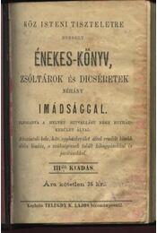 Énekes-könyv (III. kiad.) - Régikönyvek