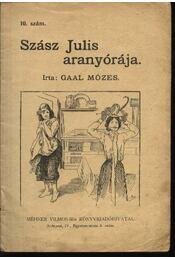 Szász Julis aranyórája - Régikönyvek
