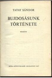 Bujdosásunk története - Régikönyvek