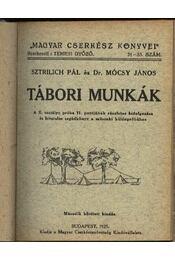 Tábori munkák - Régikönyvek