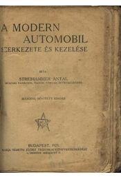 A modern automobil szerkezete és kezelése - Régikönyvek