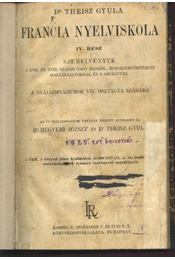 Francia nyelviskola VI. rész - Régikönyvek