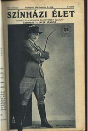 Szinházi élet 1935. 6.szám - Régikönyvek