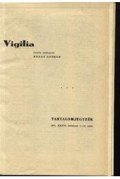 Vigilia 1971. (teljes) - Régikönyvek