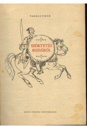 Szöktetés Budáról - Régikönyvek