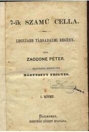 A 7-ik számú cella I-IV. - Régikönyvek