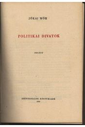 Politikai divatok - Régikönyvek