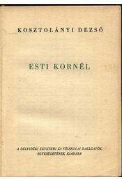 Esti Kornél - Régikönyvek