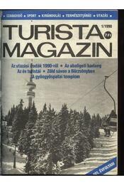 Turista magazin 1990. évfolyam (hiányos) - Régikönyvek