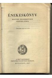 Énekeskönyv - Régikönyvek