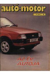 Autó-Motor 1981. (hiányos) - Régikönyvek
