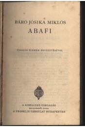 Abafi - Régikönyvek