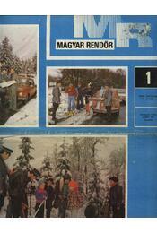 Magyar Rendőr 1979. év - Régikönyvek