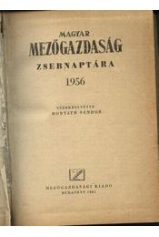 Magyar mezőgazdaság zsebnaptára 1956 - Régikönyvek