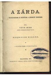 A zárda - Régikönyvek