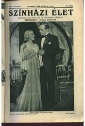 Szinházi élet 1934. 16. szám - Régikönyvek