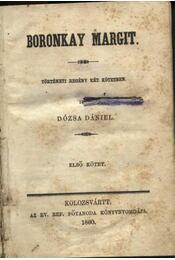 Boronkay Margit - Régikönyvek