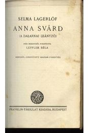 Anna Svärd - Régikönyvek