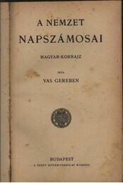 A nemzet napszámosai - Régikönyvek
