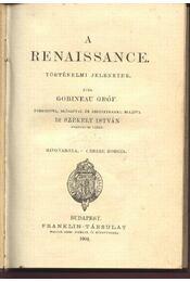 A renaissance - Régikönyvek