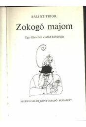 Zokogó majom - Régikönyvek