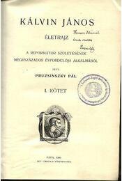 Kálvin János I-II kötet - Régikönyvek