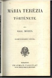 Mária Terézia története - Régikönyvek