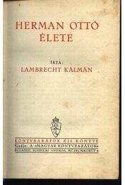 Hermann Ottó élete - Régikönyvek